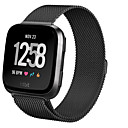 cheap Galaxy J Series Cases / Covers-Watch Band for Fitbit Versa Fitbit Milanese Loop Steel Wrist Strap