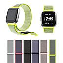 저렴한 Fitbit 밴드 시계-시계 밴드 용 Fitbit Versa 핏빗 모던 버클 나일론 손목 스트랩