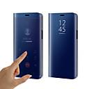 رخيصةأون واقيات شاشات سامسونج-غطاء من أجل Samsung Galaxy S9 / S9 Plus / S8 Plus تصفيح / مرآة / قلب غطاء كامل للجسم لون سادة قاسي سيليكون