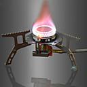 preiswerte Camping Küchen-DesertFox® Campingkocher Kochutensilien für den Outdoor Gourmet Leicht Edelstahl / Aluminum Alloy / Kupferrot Außen für Angeln / Wandern / Camping Silber