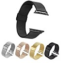 cheap Decoration Stickers-Watch Band for Apple Watch Series 4/3/2/1 Apple Milanese Loop Stainless Steel Wrist Strap