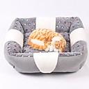 Χαμηλού Κόστους Παιχνίδια για γάτες-Mini / Διατηρείτε Ζεστό / Moale Ρούχα για σκύλους Κρεβάτια Καρό / Τετραγωνισμένο / Μοντέρνα Γκρίζο Σκυλιά / Κουνέλια / Γάτες