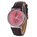 hesapli Kadın Saatleri-Xu™ Kadın's Elbise Saat / Bilek Saati Çince Yaratıcı / Gündelik Saatler / Havalı PU Bant Günlük / Moda Siyah / Beyaz / Mavi