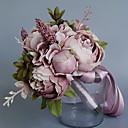 preiswerte Künstliche Blumen-Künstliche Blumen 1 Ast Klassisch Einzelbett(150 x 200 cm) Hochzeit Pfingstrosen Tisch-Blumen