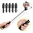 cheap Selfie Sticks-VORMOR Selfie Stick Wired Extendable Max Length 60 cm For Android / Universal / iOS Android / iOS For Iphone / Huawei / Xiaomi