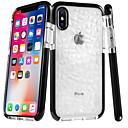 저렴한 아이패드 케이스 / 커버-케이스 제품 Apple iPhone 8 / iPhone 8 Plus 울트라 씬 / 투명 뒷면 커버 타일 / 기하학 패턴 소프트 TPU 용 iPhone X / iPhone 8 Plus / iPhone 8