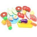رخيصةأون نتظاهر اللعب-لعب تمثيلي مأكولات / فاكهة التفاعل بين الوالدين والطفل قذيفة البلاستيك مرحلة ما قبل المدرسة هدية 13 pcs
