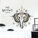 お買い得  メンズ腕時計-飾りウォールステッカー - 動物の壁のステッカー 動物 リビングルーム / ベッドルーム / 浴室