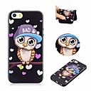 abordables Coques d'iPhone-Coque Pour Apple iPhone 6 / iPhone 6s Motif Coque Chouette Flexible TPU pour iPhone 6s / iPhone 6