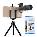 economico Lenti cellulare-Obiettivo del telefono cellulare Lunghezza focale della lente Acrilico Macro 18X 0.01 m 70 ° Obiettivo con supporto