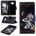 cheap iPad Screen Protectors-Case For Samsung Galaxy Note 9 / Note 8 Wallet / Card Holder / with Stand Full Body Cases Butterfly Hard PU Leather for Note 9 / Note 8