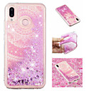 cheap Cases / Covers for Huawei-Case For Huawei P20 Pro / P20 lite Flowing Liquid / Pattern / Glitter Shine Back Cover Mandala / Glitter Shine Soft TPU for Huawei P20 / Huawei P20 Pro / Huawei P20 lite
