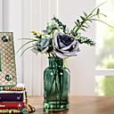 preiswerte Künstliche Blumen-Künstliche Blumen 1 Ast Klassisch Einzelbett(150 x 200 cm) Pastoralen Stil Rosen Tisch-Blumen