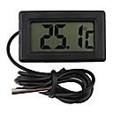 preiswerte Küchenutensilien & Gadgets-mini digitaler kühlschrank thermometer schwarz lcd display kühlschrank sonde