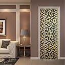 رخيصةأون الستائر-لواصق حائط مزخرفة / ملصقات الباب - لواصق حائط الطائرة / عطلة ملصقات الحائط ديني / 3D غرفة الجلوس / غرفة النوم