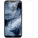 preiswerte Nokia Bildschirm-Schutzfolien-Displayschutzfolie für Nokia Nokia X6 PET 1 Stück Front- und Kameraobjektivschutz Ultra dünn / Matt / Kratzfest