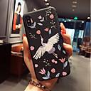 baratos Capinhas para iPhone-Capinha Para Apple iPhone X / iPhone 8 Estampada Capa traseira Flamingo Macia TPU para iPhone X / iPhone 8 Plus / iPhone 8