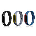 cheap Headsets & Headphones-Watch Band for Mi Band 2 Xiaomi Sport Band Silicone Wrist Strap