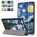 cheap Beads & Beading-Case For Huawei MediaPad T3 10(AGS-W09, AGS-L09, AGS-L03) with Stand / Magnetic Full Body Cases Oil Painting Hard PU Leather for Huawei MediaPad T3 10(AGS-W09, AGS-L09, AGS-L03)