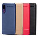 رخيصةأون Sony أغطية / كفرات-غطاء من أجل Huawei Huawei P20 / Huawei P20 lite / Mate 10 lite نحيف جداً غطاء خلفي لون سادة ناعم TPU