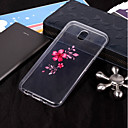 cheap Galaxy J Series Cases / Covers-Case For Samsung Galaxy J7 (2017) / J5(2016) IMD / Transparent / Pattern Back Cover Flower Soft TPU for J7 (2017) / J7 (2016) / J7