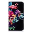 hesapli Duvar Işıkları-Pouzdro Uyumluluk Huawei P20 Pro / P20 lite Cüzdan / Kart Tutucu / Satandlı Tam Kaplama Kılıf Flamingo Sert PU Deri için Huawei P20 / Huawei P20 Pro / Huawei P20 lite