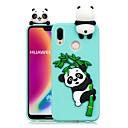 رخيصةأون Huawei أغطية / كفرات-غطاء من أجل Huawei Huawei P20 / Huawei P20 Pro / Huawei P20 lite اصنع بنفسك غطاء خلفي باندا ناعم TPU / P10 Lite / P10