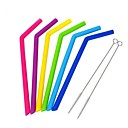 cheap Coffee Tools-Drinkware Straws Full Body Silicone Portable / Boyfriend Gift / Girlfriend Gift Event / Party