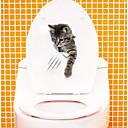 Недорогие Серьги-Наклейки для туалета - Наклейки для животных Животные Гостиная / Спальня / Ванная комната