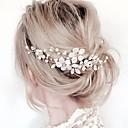 ieftine Bijuterii de Păr-Pentru femei Floral În Cruce Simplu,Material Textil Aliaj-Cristal / Piepteni de Păr