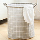 ieftine Papetărie-Material Textil Rotund Model nou Acasă Organizare, 1 buc Pungă de Rufe & Coș