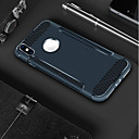abordables Coques d'iPhone-Coque Pour Apple iPhone X / iPhone 8 Dépoli Coque Couleur Pleine Flexible TPU pour iPhone X / iPhone 8 Plus / iPhone 8