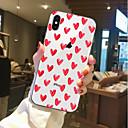 levne iPhone pouzdra-Carcasă Pro Apple iPhone X / iPhone 8 Průhledné / Vzor Zadní kryt Srdce Měkké TPU pro iPhone X / iPhone 8 Plus / iPhone 8