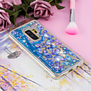 ieftine Ustensile & Gadget-uri de Copt-Maska Pentru Samsung Galaxy S9 / S9 Plus / S8 Plus Scurgere Lichid / Transparent / Model Capac Spate Fluture Moale TPU
