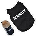 ieftine Imbracaminte & Accesorii Căței-Câini Γιλέκο Îmbrăcăminte Câini Motto & Zicale Negru Roz Bumbac Costume Pentru Vară Toamnă Unisex Cosplay