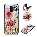 ieftine Machiaj & Îngrijire Unghii-Maska Pentru Samsung Galaxy Note 9 Model Capac Spate Fluture / Floare Moale TPU