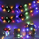 hesapli LED Sahne Işıkları-BRELONG® 1pc Gece aydınlatması LED RGB AC napájení Düğün / Doğum Dünü / Modellendirme 220-240 V