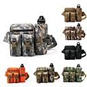 hesapli Sırt Çantaları ve Çantalar-6 L Bel Çantaları - Anatomik Tasarım, Giyilebilir Açık hava Yürüyüş, Kamp Naylon Gri, Kamuflaj, Haki