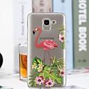 رخيصةأون أغطية أيفون-غطاء من أجل Samsung Galaxy J7 (2017) / J6 / J5 (2017) شفاف / نموذج غطاء خلفي البشروس طائر مائي ناعم TPU