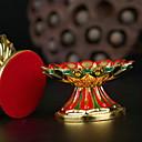 hesapli Home Fragrances-Modern / Çağdaş Plastik ve Metal Mum Tutucular Büyük Şamdan 1pc, Mum / Mumluk