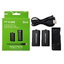 preiswerte Xbox One Zubehör-DOBE Mit Kabel Ladegeräte Kits / Batterien Für Xbox One . Tragbar Ladegeräte Kits / Batterien PC 1 pcs Einheit