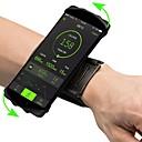 ieftine Rucsaci & Genți-Bandă de Mână Telefon mobil Bag Ajustabile Ușor Înaltă Elasticitate În aer liber Călătorie Alergat Fitness Lycra Spandex Verde Albastru Roz