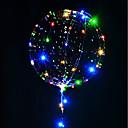 preiswerte Ausgefallene LED-Lichter-3m 30led leuchtende geführte leuchtende Ballone der Ballone transparentes Heliumballone alles Gute zum Geburtstag-Partydekorationskinder, die lediges Ballonweihnachten neues Jahr heiraten