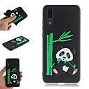 ieftine USB Flash Drives-Maska Pentru Huawei Huawei P20 / Huawei P20 Pro / Huawei P20 lite Model Capac Spate Desene 3D / Panda Moale TPU