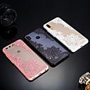 Недорогие Чехлы и кейсы для Huawei-Кейс для Назначение Huawei P20 / P20 lite Матовое / Полупрозрачный / Рельефный Кейс на заднюю панель Кружева Печать Твердый Акрил для Huawei P20 / Huawei P20 Pro / Huawei P20 lite