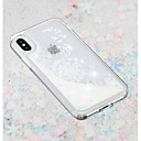 abordables Fundas para iPhone-Funda Para Apple iPhone X / iPhone 8 Plus Líquido / Transparente / Diseños Funda Trasera Diente de león Suave TPU para iPhone X / iPhone 8 Plus / iPhone 8
