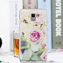 preiswerte Galaxy J Serie Hüllen / Cover-Hülle Für Samsung Galaxy J6 / J4 Transparent / Muster Rückseite Blume Weich TPU für J7 (2017) / J6 / J5 (2017)