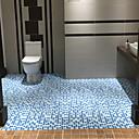 Недорогие Косметика и уход за ногтями-1шт Modern Коврики для ванны 100 г / м2 полиэфирный стреч-трикотаж В клетку нерегулярный Новый дизайн