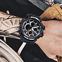 رخيصةأون ساعات الرجال-رجالي ساعة رقمية ياباني كوارتز سيليكون أسود / أحمر / البرتقال 50 m الكرونوغراف إبداعي قضية تناظري-رقمي سوار موضة - ذهبي-أسود كاكي أخضر غامق سنتان عمر البطارية