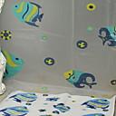 cheap Bathroom Gadgets-Shower Curtains Modern PVC(PolyVinyl Chloride) Machine Made New Design / Cool Bathroom